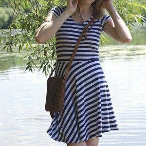 Synergy Organic Cotton Striped Dress